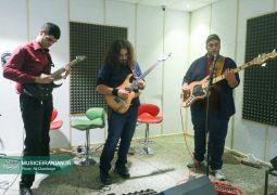 گزارش تصویری از تمرین های این گروه برای اجرای کنسرت