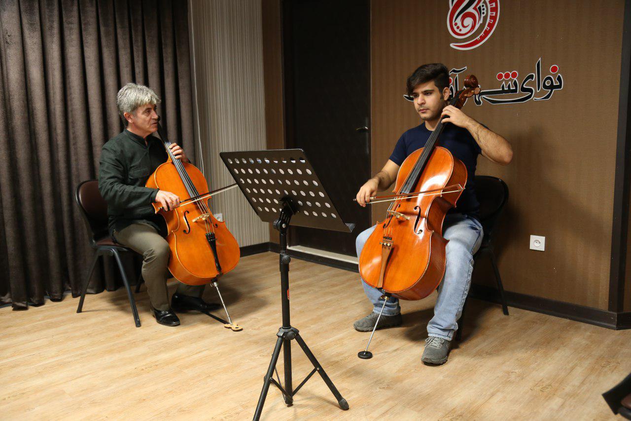 با همکاری مرکز آموزش موسیقی «نوای شهر آشوب» و «سازینه»