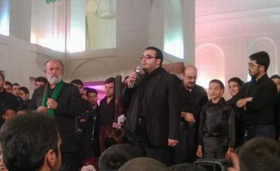 مرثیه خوانی و مداحیهای پرشور خواننده موسیقی ایرانی در ایام محرم