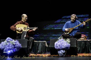 حسین بهروزی نیا در کنار حسین علیزاده