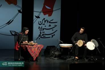 دونوازی قانون و تنبک پریچهر خواجه و بهنام معصومی در نیاوران برگزار شد | گزارش تصویری «موسیقی ایرانیان»
