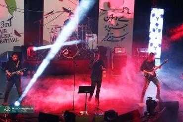 گزارش تصویری «موسیقی ایرانیان» از کنسرت گروه  موسیقی «گره»