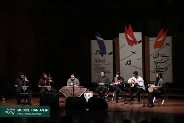 گزارش تصویری «موسیقی ایرانیان» از اجرای گروه موسیقی «سرشک» در جشنواره موسیقی فجر