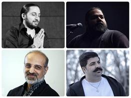 9 خواننده، تیتراژ 3 سریال و برنامه «ماه عسل» را میخوانند