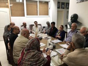 جلسه مشترک هیئت مدیره خانه موسیقی و کانون نوازندگان کلاسیک برگزار شد