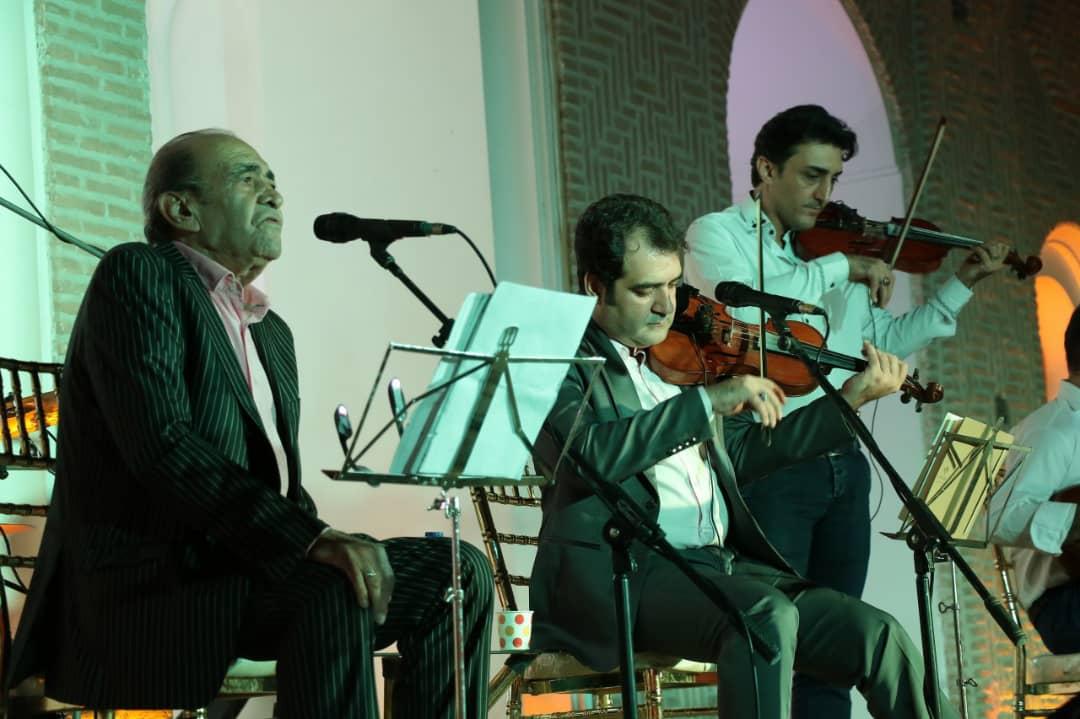 موسسه موسیقى «نت هشتم» با همکارى شرکت سایه روشن رفسنجان برگزار کرد