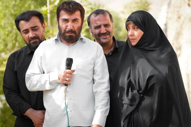 سیامک انصاری، شبنم مقدمی و برزو ارجمند در زهرمار