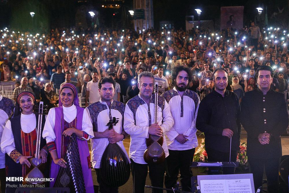 در پی برگزاری کنسرت رایگان در تهران
