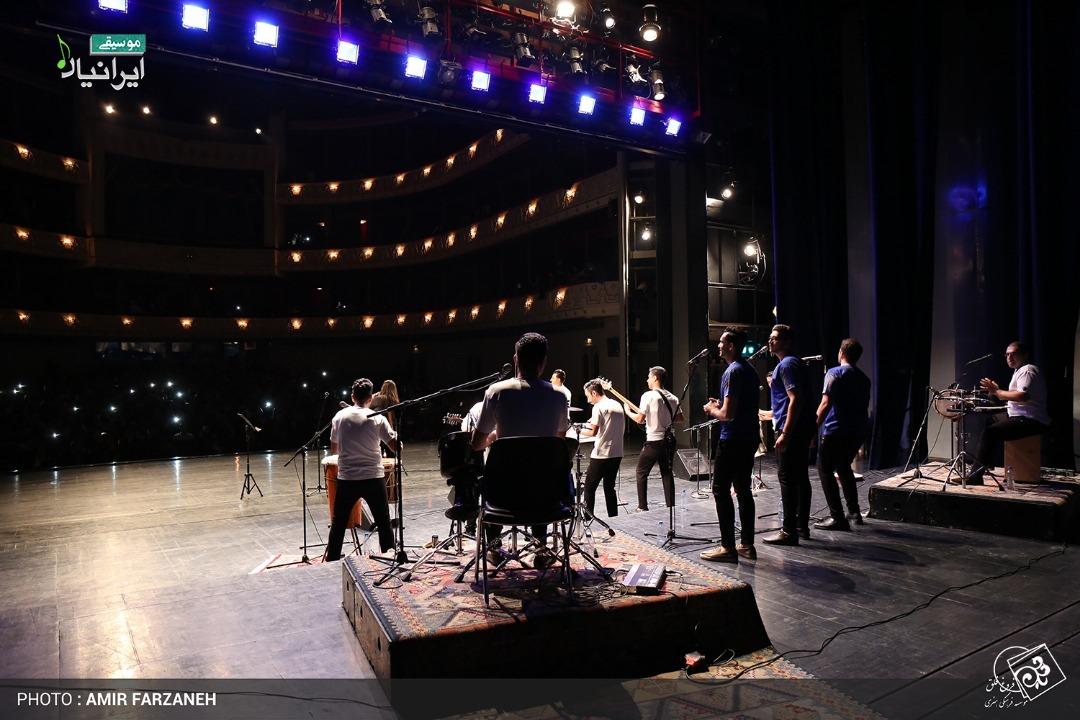 گزارش تصویری کنسرت گروه موسیقی بندری «آوای موج» در تالار وحدت