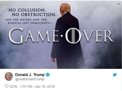 سوءاستفاده دوباره ترامپ و واکنش منفی مالک «بازی تاج و تخت» / عکس
