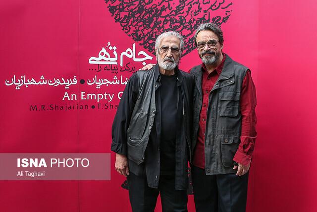 گزارش تصویری مراسم امضای پوستر و آلبوم «جام تهی» محمدرضا شجریان به نفع سیل زدگان