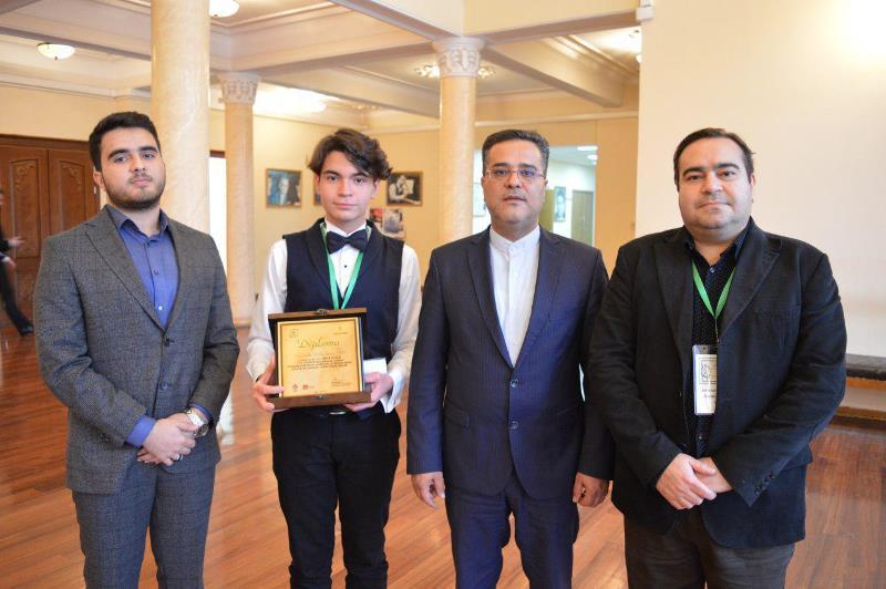 نوجوان ایرانی در بخش پیانو مقام نخست را کسب کرد