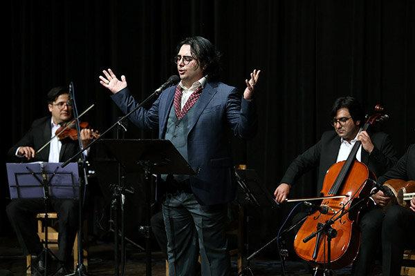 خواننده جوان موسیقی ایرانی تجلیل شد