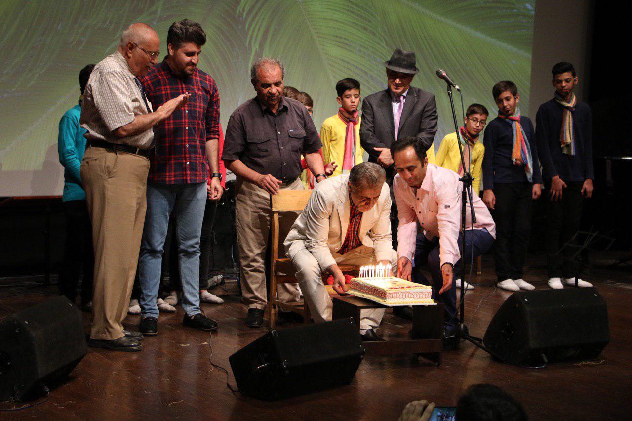 اولین هزارصدای کودک و نوجوان برگزار شد / برگزاری جشن تولد مصطفی رحماندوست | گزارش تصویری