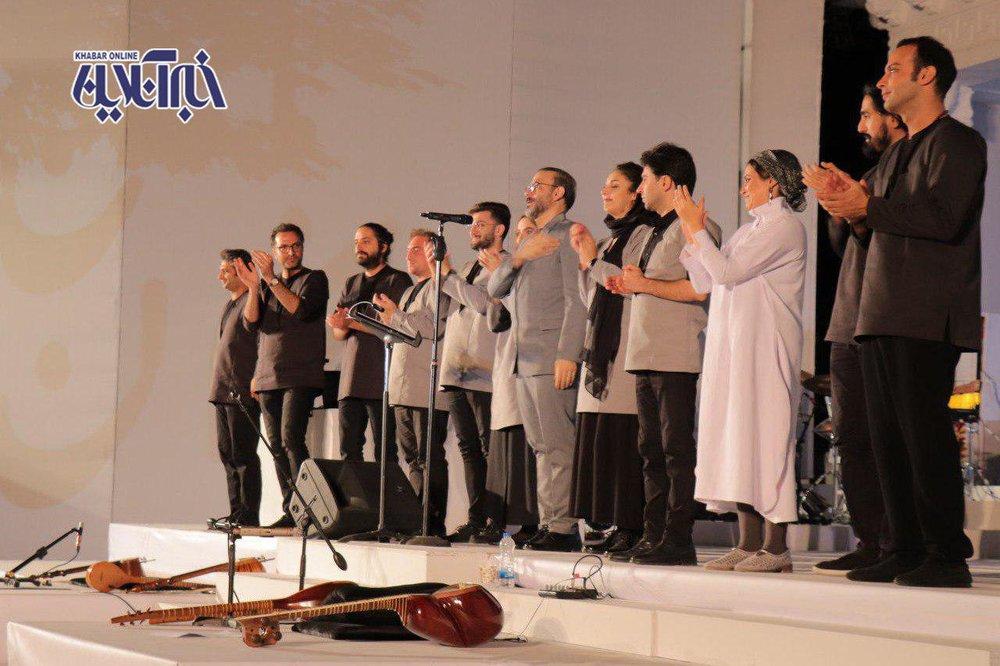 تصاویر   کنسرت «با من بخوان» علیرضا قربانی در کاخ سعدآباد