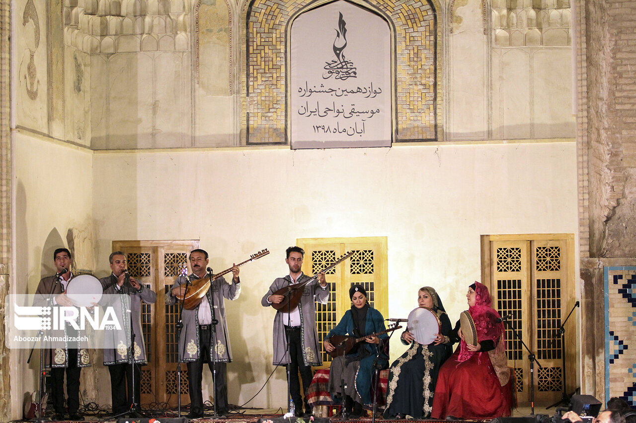 دفتر دوازدهمین جشنواره موسیقی نواحی ایران بسته شد