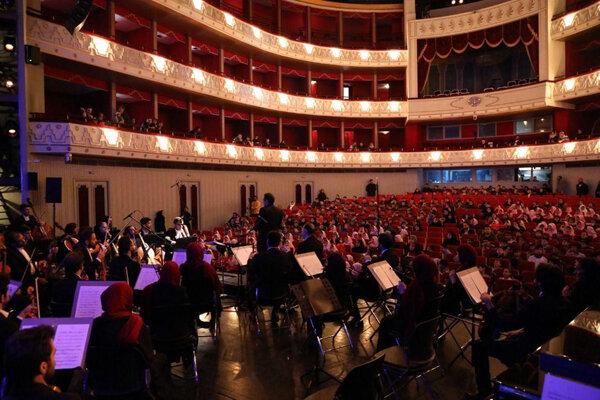 ارکستر ملی برای کودکان آسیب پذیر کنسرت اجرا کرد | ثبت یک خاطره خوش