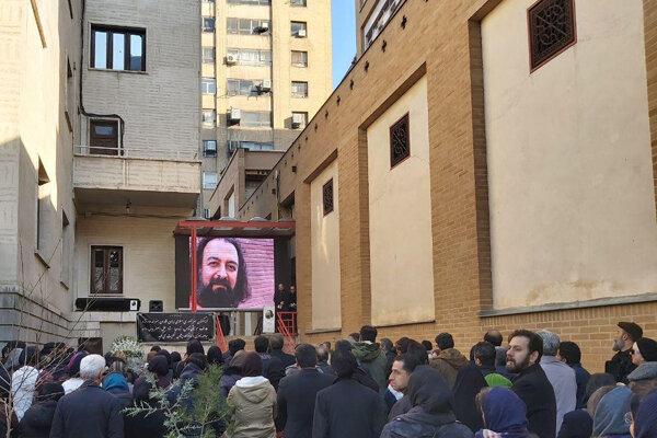 علی اصغر بیانی به خانه ابدی بدرقه شد