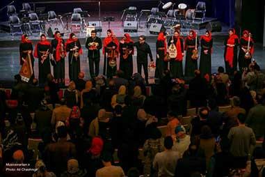 گزارش تصویری «موسیقی ایرانیان» از اجرای خنیاگران مهر