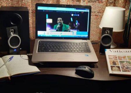 امید حاجیلی کنسرتهای آنلاین نوروزخانه را آغاز کرد