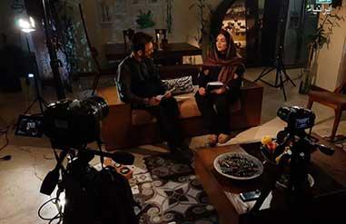 پشت صحنه گفتگوی تصویری موسیقی ایرانیان با «نوا عارف» و عوامل عصیان سلیمان