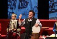 نواهای فولکلور ناصر وحدتی در هشتمین شب نوروزخانه