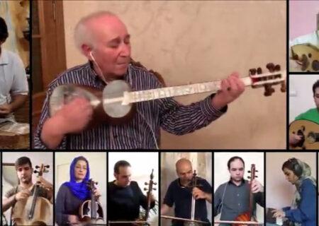 اجرای خانگی رامیز قلیاف و ارکستر سازهای ملی منتشر شد