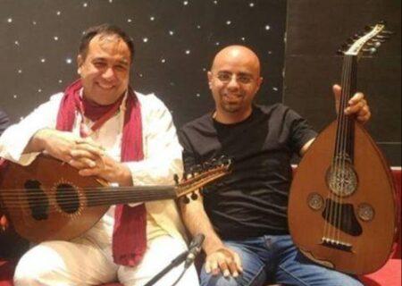 مناظره بر خطِ مجید ناظم پور و طارق الجُندی نوازندگان عود از دو فرهنگِ دور و نزدیک