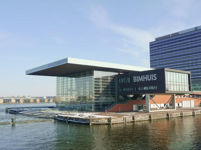 ساختمان موسیقی آمستردام که کنسرت امشب در آن برگزار میشود