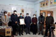 نشان درجه یک هنر به پیر سُرنا نواز همدانی اعطا شد