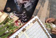 بدرقه عبدالوهاب شهیدی به خانه ابدی