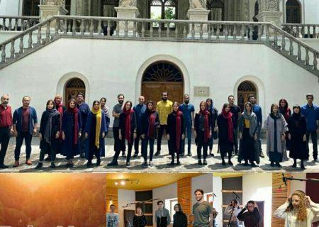 اجرای مشترک قطعه «بابا یِتو» توسط دو گروه کُر از ایران و کرواسی