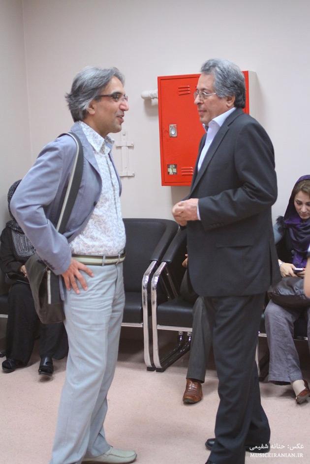 عکسهایی از حضور اهالی هنر در اجرای ارکستر سمفونیک ویولت www.TAFRIHI.com